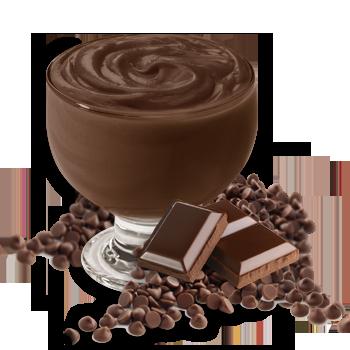 Préparation pour pouding au chocolat noir