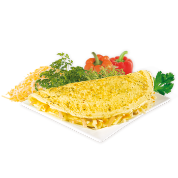 Préparation pour omelette aux fines herbes et fromage