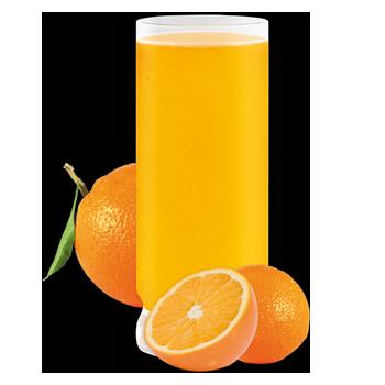 Préparation pour boisson à saveur d'orange