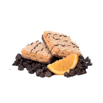 Gaufrettes à saveur d'orange
