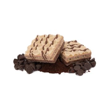 Gaufrettes à triples saveurs de chocolat
