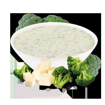 Préparation pour potage au brocoli et fromage