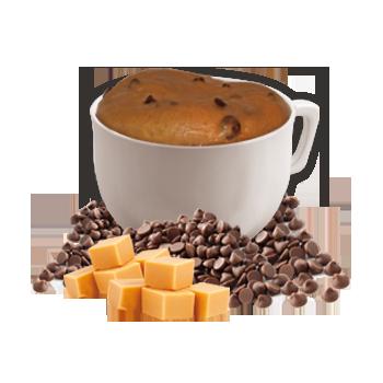 Mug cake chocolaté à saveur de caramel