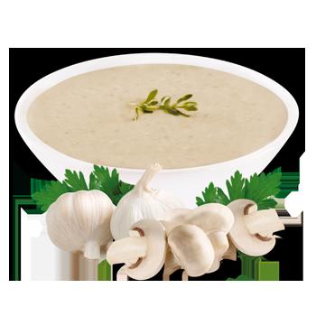 Préparation pour soupe aux champignons