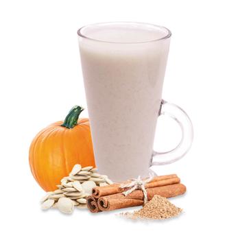 Préparation pour boisson lattée à la citrouille épicée